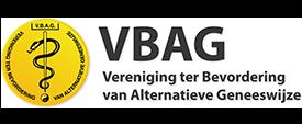 VBAG (Vereniging ter Bevordering van Alternatieve Geneeswijze) Lidmaatschapnummer: 21901008